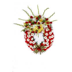 Corona funeraria. CORONA MOD. 5
