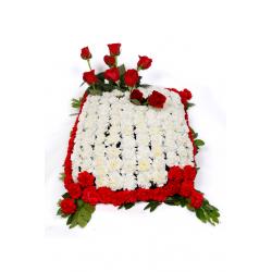 Arreglos funerarios. ALMOHADON FLOR NATURAL